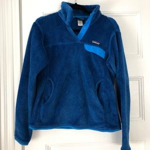 Patagonia blue fleece